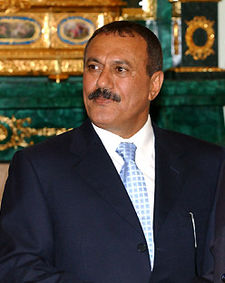 Le président Ali Abdullah Saleh