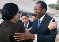 Blaise et Khadafi
