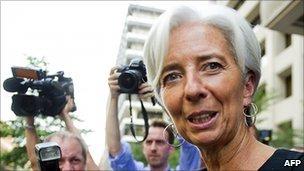 Christine Lagarde (Photo BBC)