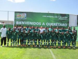 Etalons cadets au Mexique