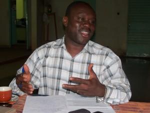 Le coordonnateur du système LMD au Burkina,       Dr Balibié Serge Bayala