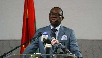 Luc Adolphe Tiao, le Premier ministre du Burkina