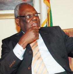 son EXcellence Abdou Touré, Ambassadeur de la Côte d'Ivoire au Burkina Faso. Photo: Le Pays.bf