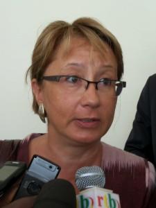 La représentante résidente de la Banque mondiale au Burkina, Galina Sotirova.