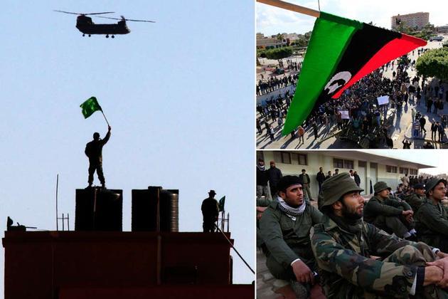 Protestation en Libye