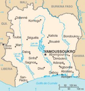 Côte d'Ivoire.
