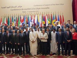Une vue des paricipants à la rencontre de Paris sur la Libye. Ph. bluewin.ch