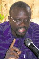 Me Bénéwendé Sankara, Président de l'UNIR/PS  (Ph : L'Opinion)