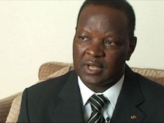 Alain Bedouma Yoda, Secrétaire à l'information et à la Communication du CDP,   Photo  : Lefaso.net