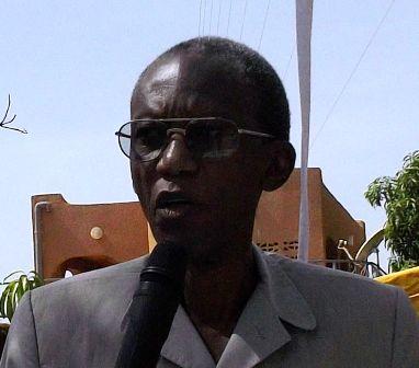 Chrisogone Zougmoré, président du MBDHP