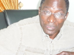 Fidèle Kientéga, ancien conseiller de feu Président Thomas Sankara. Ph. B24