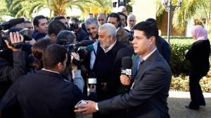 Les dirigeants du parti islamiste justice et développement (PJD)