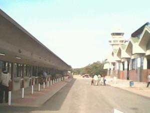 Le nouveau visage de l'aéroport international de Ouagadougou est en train de prendre forme Photo: Burkina24