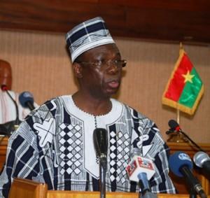 Son Excellence Luc Adolphe TIAO. Photo: Burkina24