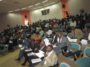 Les participants au CASEM. Photo: Burkina24