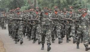 L'armée malienne. Ph:essor.ml
