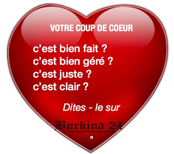 Coup de coeur l 39 actualit du burkina faso 24h 24 - Telecharger coup de coeur ...