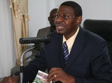 Le ministre de la communication, Alain Edouard Traoré. Photo archives : lefaso.net