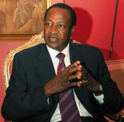 """Blaise Compaoré, président du Faso : """""""