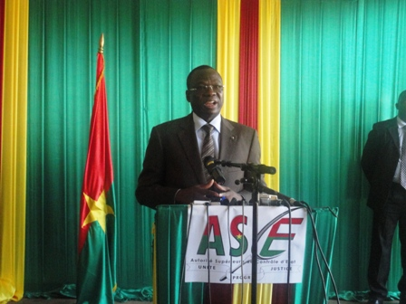 «Personne ne sera  protégée» (Ph:Burkina24)