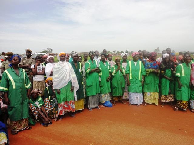 Les femmes de la brigade verte le 12 septembre 2012 (Ph: Burkina24)