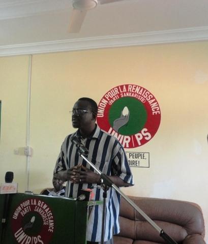 Me Bénéwendé Sankara, président de l'UNIR/PS (Ph : B24)