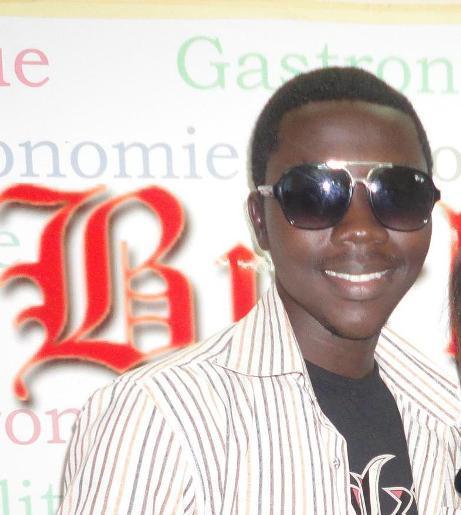 Greg, le Burkimbila, en novembre 2012 à Burkina 24 (Ph : B24)