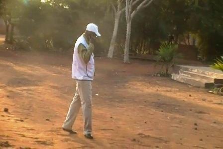 Barthelémy Kéré, président de la Commission électorale nationale indépendante le 12 décembre 2012  (Ph : B24)