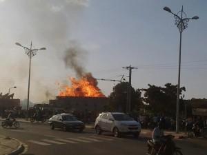 Incendie au siège du FESPACO