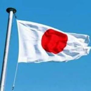 drapeau Tokyo Japon