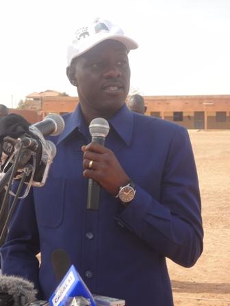 """Me Gilbert Ouédraogo : """"Nous demeurons la deuxième force politique"""" (Ph : B24)"""