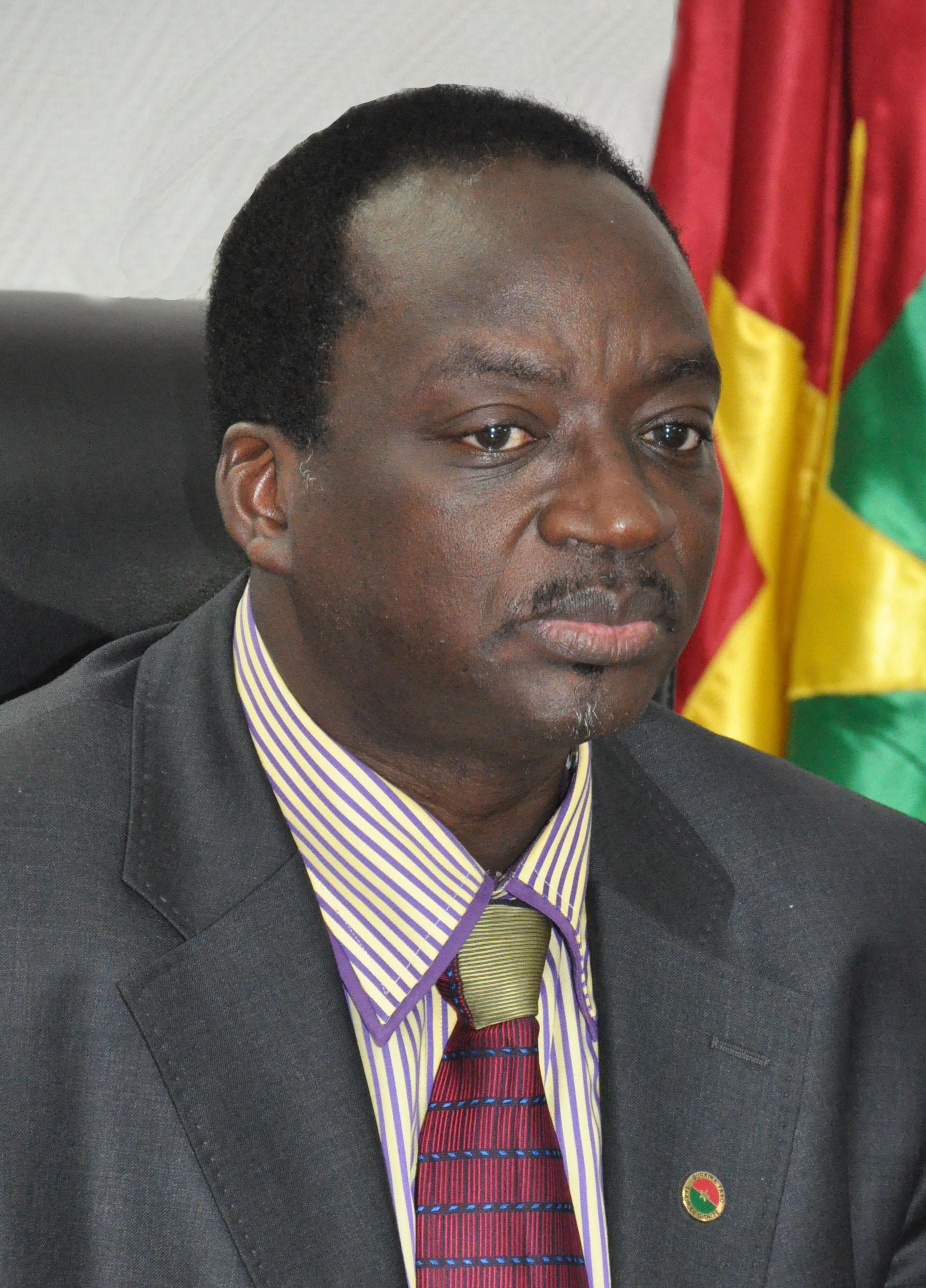 Yacouba Ouédraogo, ministre burkinabè des Sports