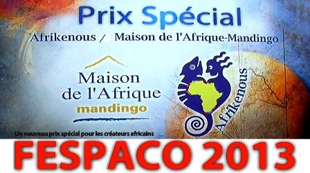 L'image officiel du Prix spécial Afrikenous (Ph : DR)