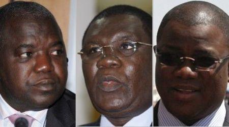 Oumar Sarr, Ousmane Ngom et Abdoulaye Baldé (Photo: sunuker)