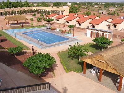 Un hôtel touristique à Banfora (Ph : DR)