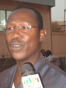 Natahnaël Ouédraogo, directeur de campagne de l'UPC :  (Ph : B24)