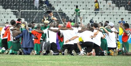 Les étalons du Burkina © DCPM-sports et loisirs