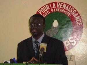 """Me Bénéwendé Sankara"