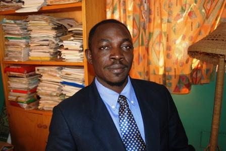 Moise Sawadogo, président de l'ODT