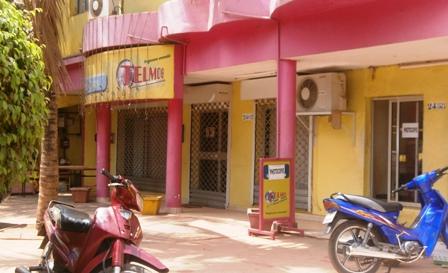 Le siège de Telmob à Bobo Dioulasso. Ph.B24