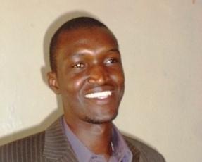 Le jeune réalisateur Pazouknam Jean-Baptiste Ouédraogo. Ph.B24