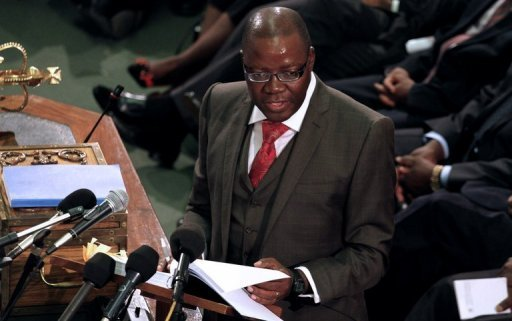 Le ministre des Finances, Tendai Biti.