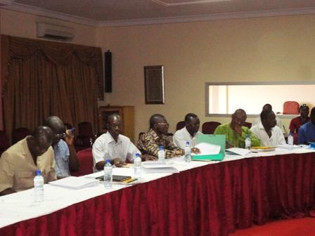Des directeurs généraux et centraux du ministère
