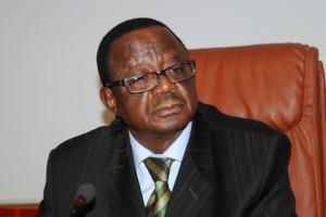 """Basga Emile Dialla, ministre en charge de la Jeunesse et de l'Emploi, estime """"déterminante"""" la contribution de l'EJMAO au PSCE (Ph : B24)"""