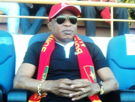 Moussa Dadis Camara, au stade du 4 aout ce samedi 23 mars 2013. Ph.B24