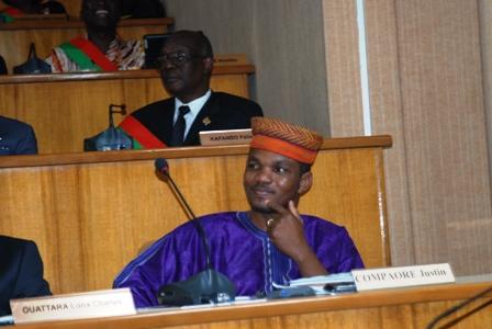 Justin Compaoré, suppléant de Zéphirin Diabré, démissionnaire. Ph.B24