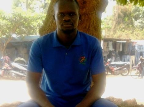 Seydou Ouédraogo a entamé une grève de la faim illimitée (Ph : B24)