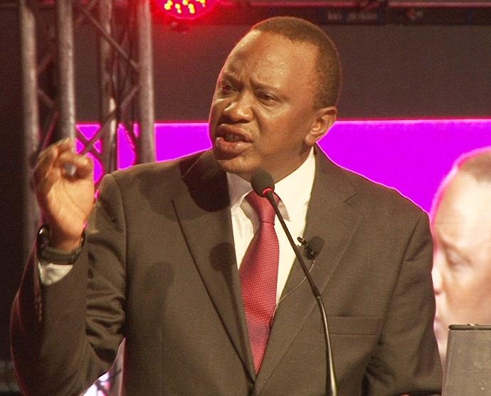 Uhuru Kenyatta, président du Kénya. Ph:www.kenyan-post.com