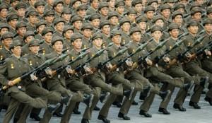 L'armée nord-coréenne. Photo archives:parismatch.com