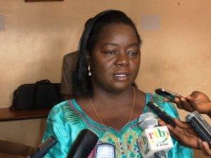 Nestorine Sangaré, Ministre de la promotion de la Femme et du Genre